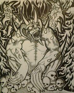 Spiked Ape Demon