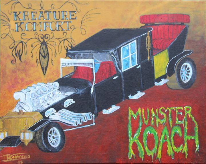 Kreature Komfort Munster Koach - BC Gallaries