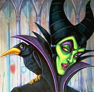 Rendition of Disney Maleficent