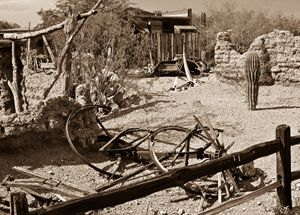 Western Ghost Town