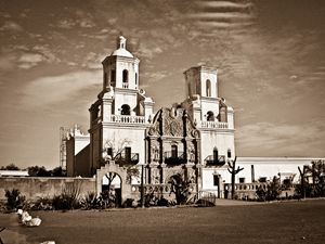 Mission at Tucson