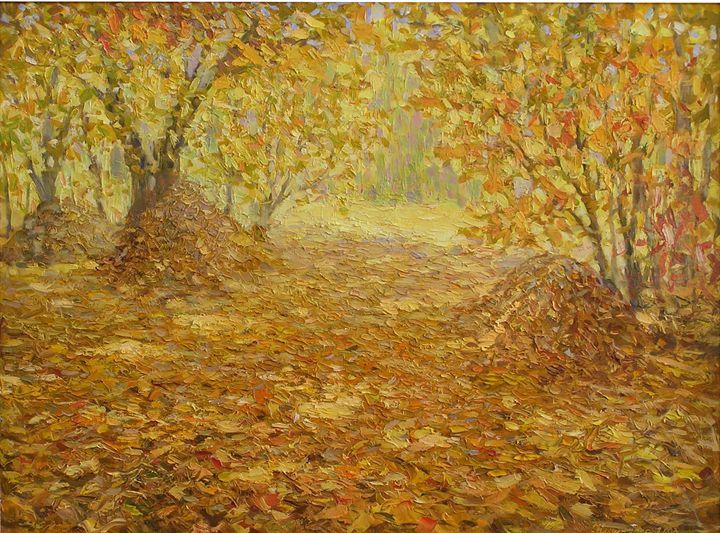 Reminiscences About Autumn - Helen Kishkurno