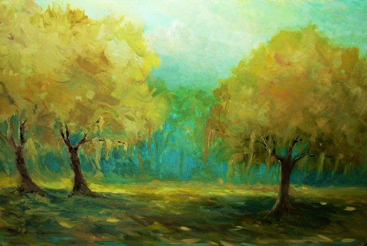 Sunlight in the forest - Mindy Reese