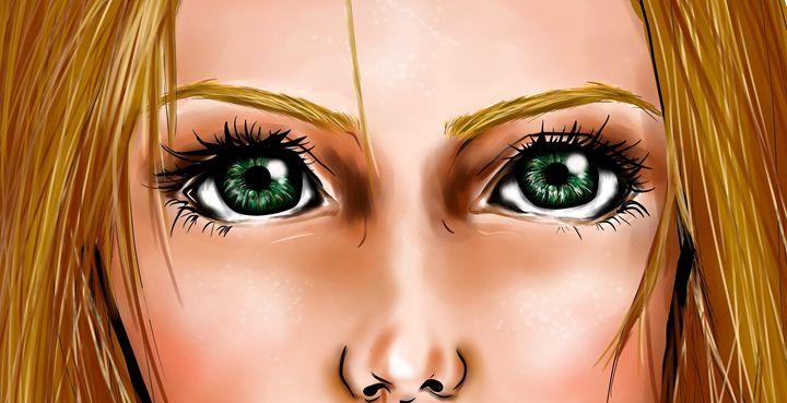 Green Eyes - Leen Tello