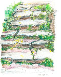Stairs, Nizhniy Novgorod, Russia, 16