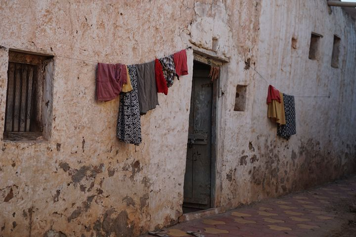 Hanging Out to Dry, India. - Dano Vukicevich Photography