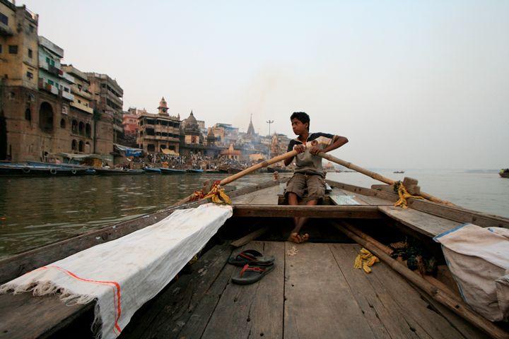 Varanasi Boy - Dano Vukicevich Photography