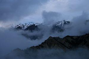 Morning view of Annapurna, Nepal - Dano Vukicevich Photography