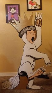 """""""Wild thing"""" plywood cutout"""