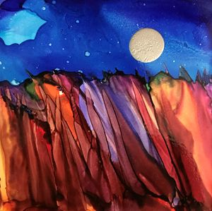 Moonstruck - Spirit Art by Joan