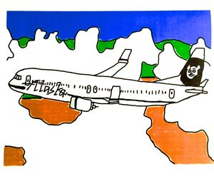 Alaska Airlines by Had Rees