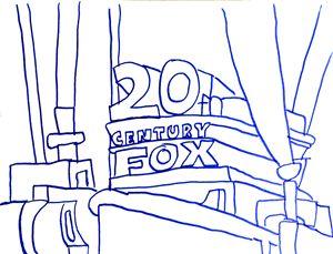 20th Century Fox logo by Had Rees