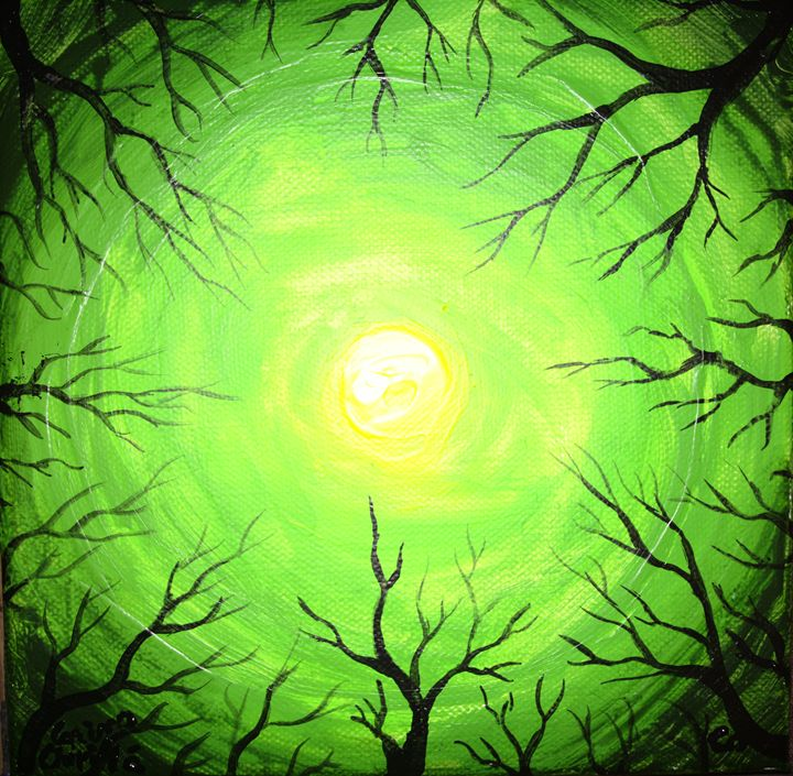 The green llight of the forest - CORinAZONe