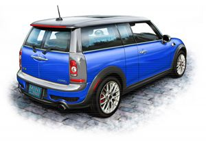 Mini Cooper Clubman Blue