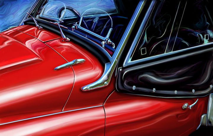 Triumph TR-3 Detail - David F Kyte
