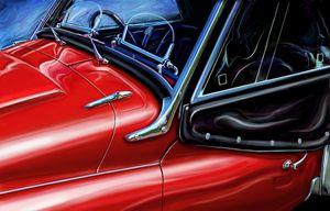 Triumph TR-3 Detail