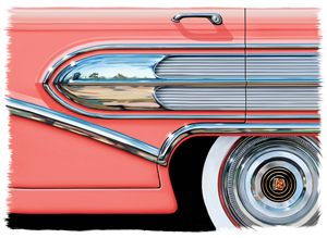 1958 Buick Side Chrome