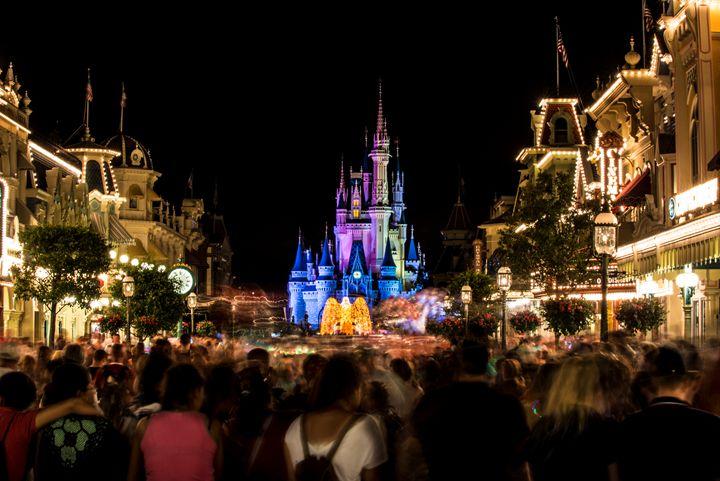 Disney Castle Night - Kcable