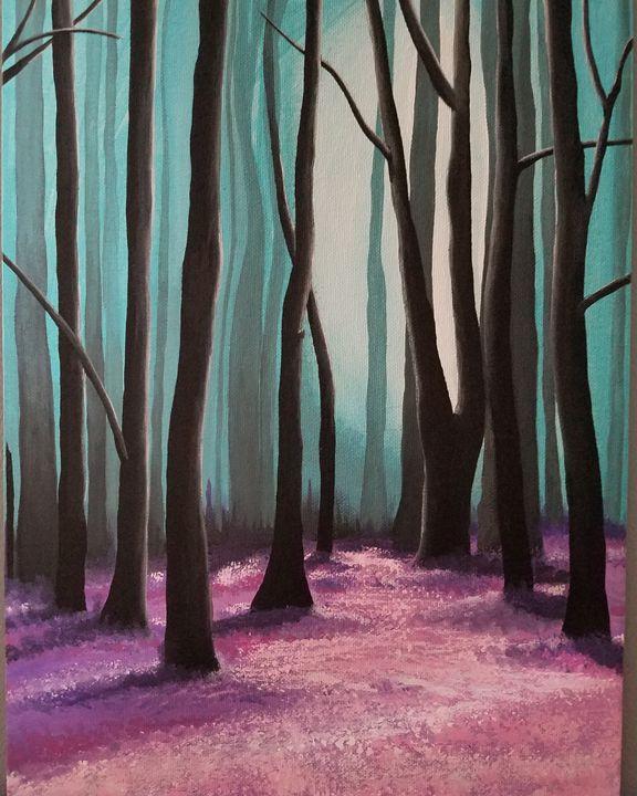 Dark Forrest - Free Spirit Art by B