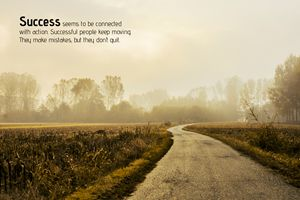 Motivational - Road to Success