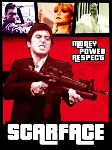 Scarface - Grand Theft Auto style