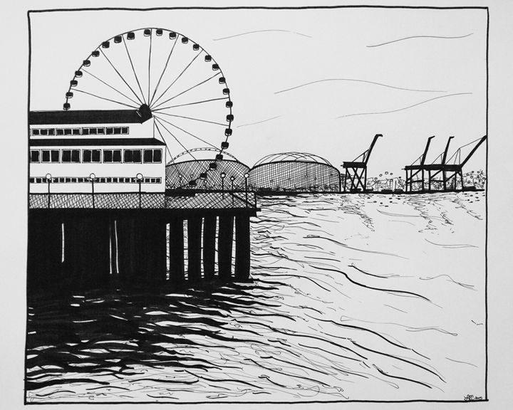 Seattle Waterfront - Lyndsie Couet