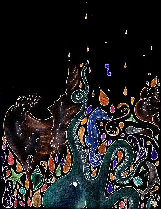Ocean Dream in the Dark - Lyndsie Couet