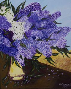 Syringa - Olga Kolpakova's paintings
