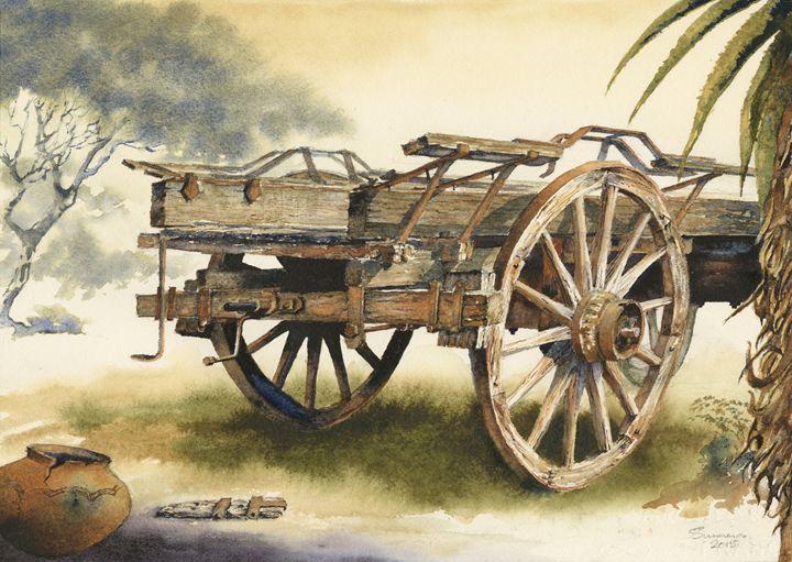 Ox wagon 4 - Peter Sunners