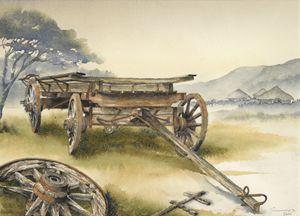 Ox wagon 1