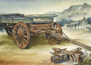 Ox wagon 2