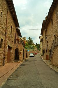 Streets of Assisi, Italy