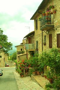 Streets of Assisi, Italy II