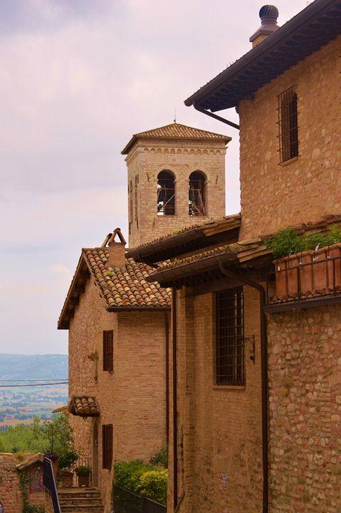 Assisi Belltower - Hankins Gallery