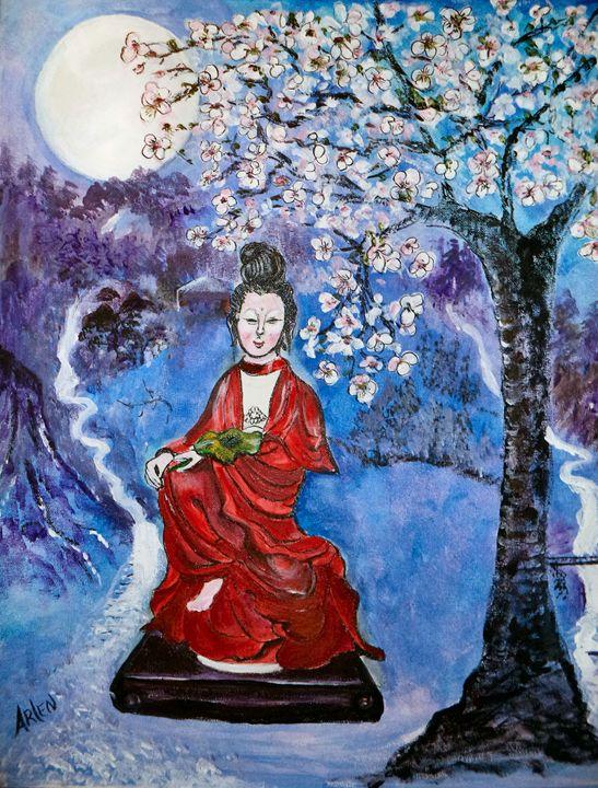 Asian Beauty - Arlen's Art