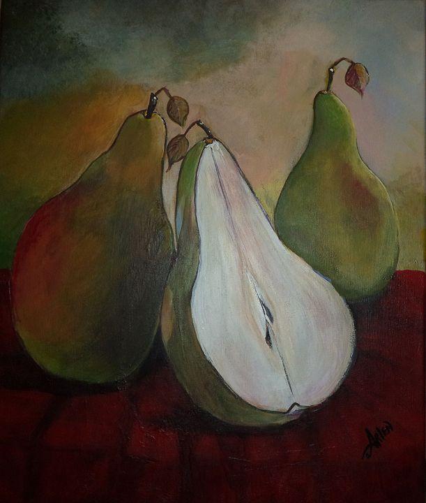 Just Us Pears - Arlen's Art