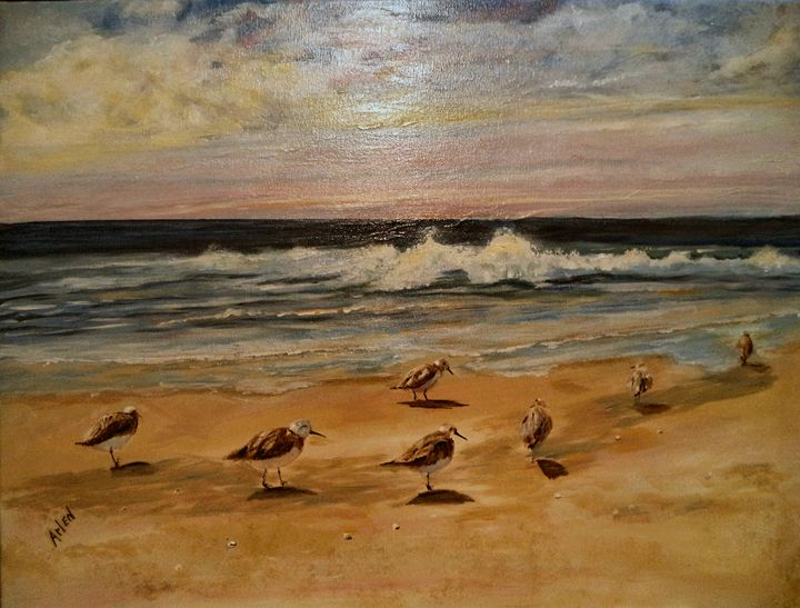 Sand Pipers - Arlen's Art