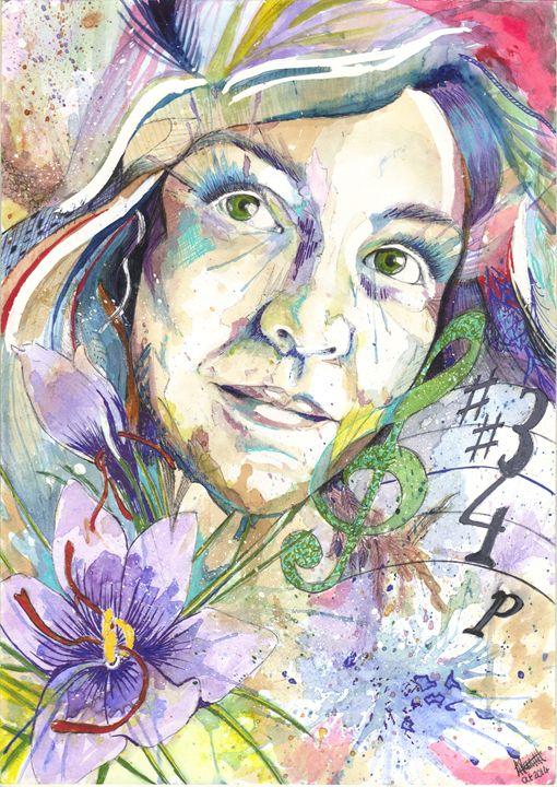 Saffron - Amber Parnell