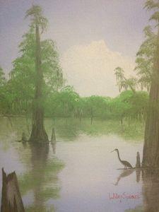 Back water bird