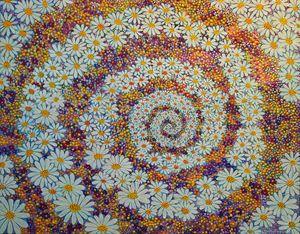 NORTHMEN CELTS ATLANTIS EMU & ABZU - Sally Harrison's Dot Paintings