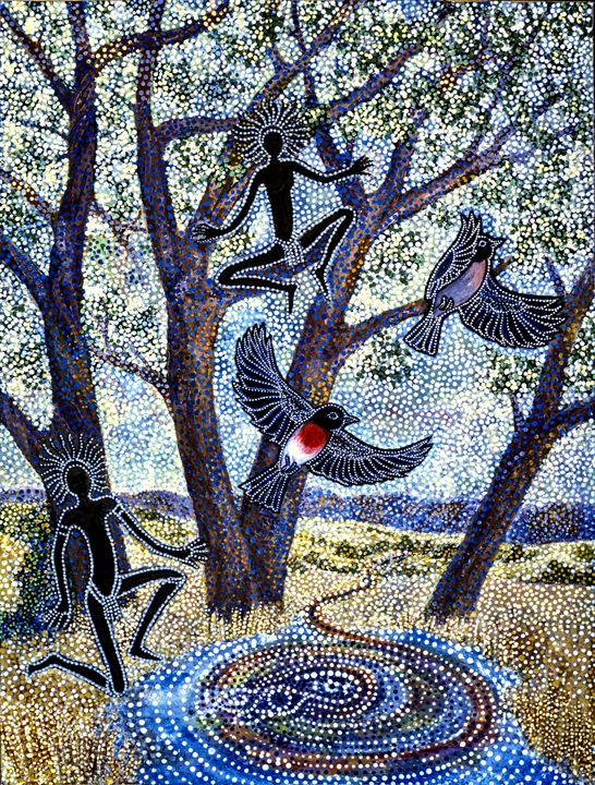 OLD ENGLISH SYMBOLS OF CHRIST - Sally Harrison's Dot Paintings