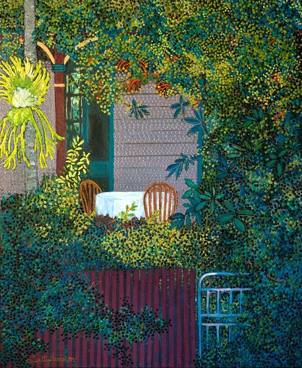Welcome to My World - Sally Harrison's Dot Paintings