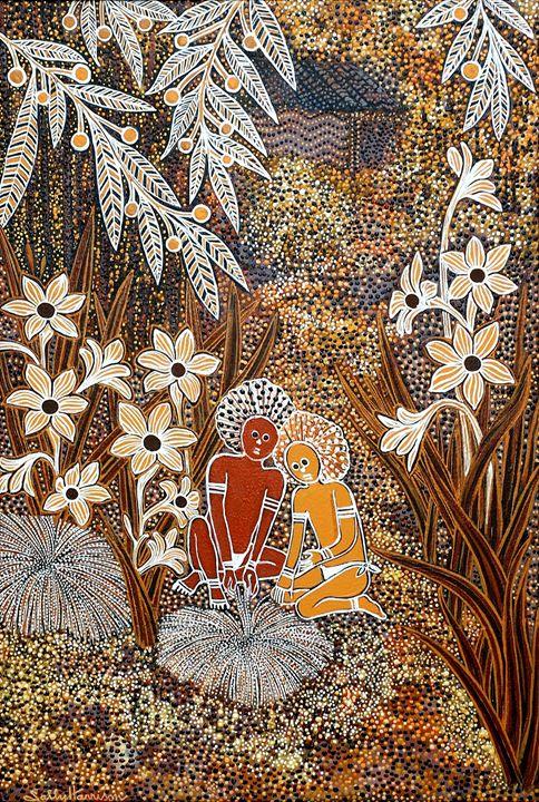 THE SECRET REVEALED - Sally Harrison's Dot Paintings