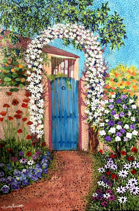 R-BRAIN CREATION V. L-BRAIN IDEAS - Sally Harrison's Dot Paintings