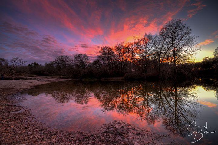 McKinney Falls Sunset - Cameron The Photographer