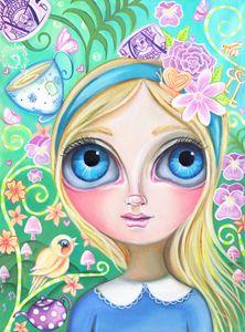 Alice in Pastel Land