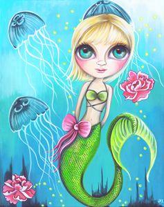 Jelly Rose Mermaid