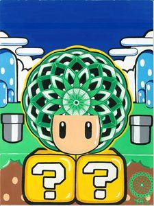 1UP Torodial Heart Mushroom