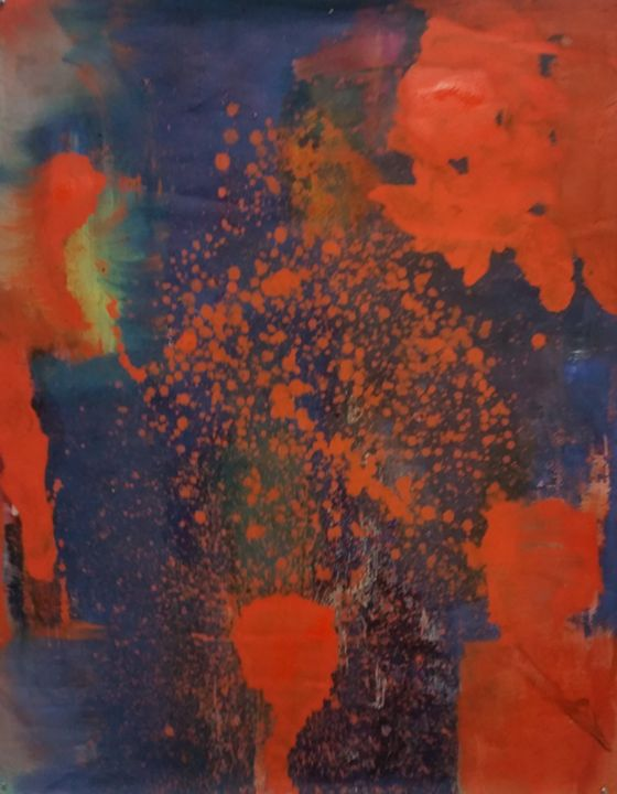 Sandtrap - Beverly Karnell - Expressionist Art