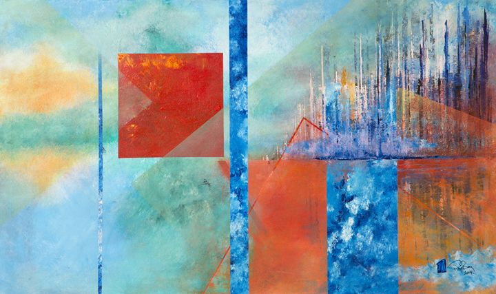 Cubes and rectangels - Roger Berg